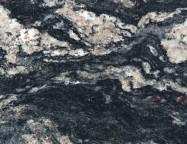 Technisches Detail: BLUE FANTASY Brasilianischer polierte Natur, Granit