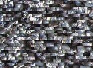 Technisches Detail: BLACK LIP BRICK Südafrikanischer polierte Natur, Halbedelstein