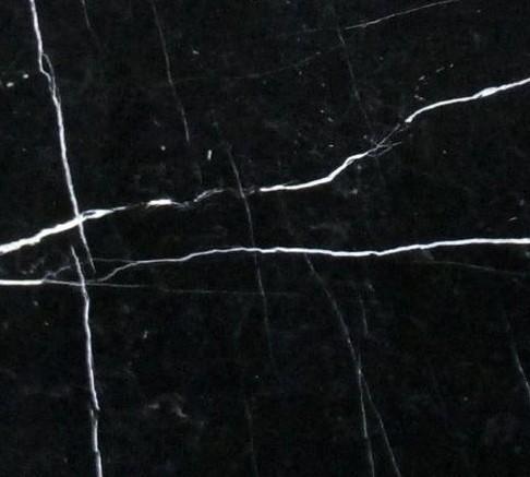 NERO MARQUINA Natur Stein  (Noir Marquina)