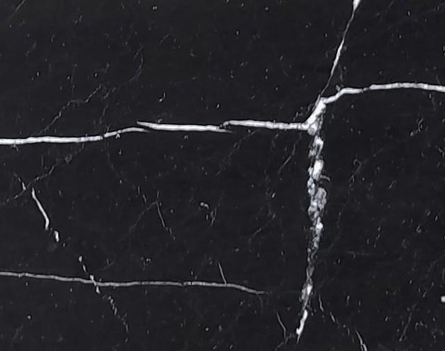 NERO MARQUINA Natur Marmor poliert
