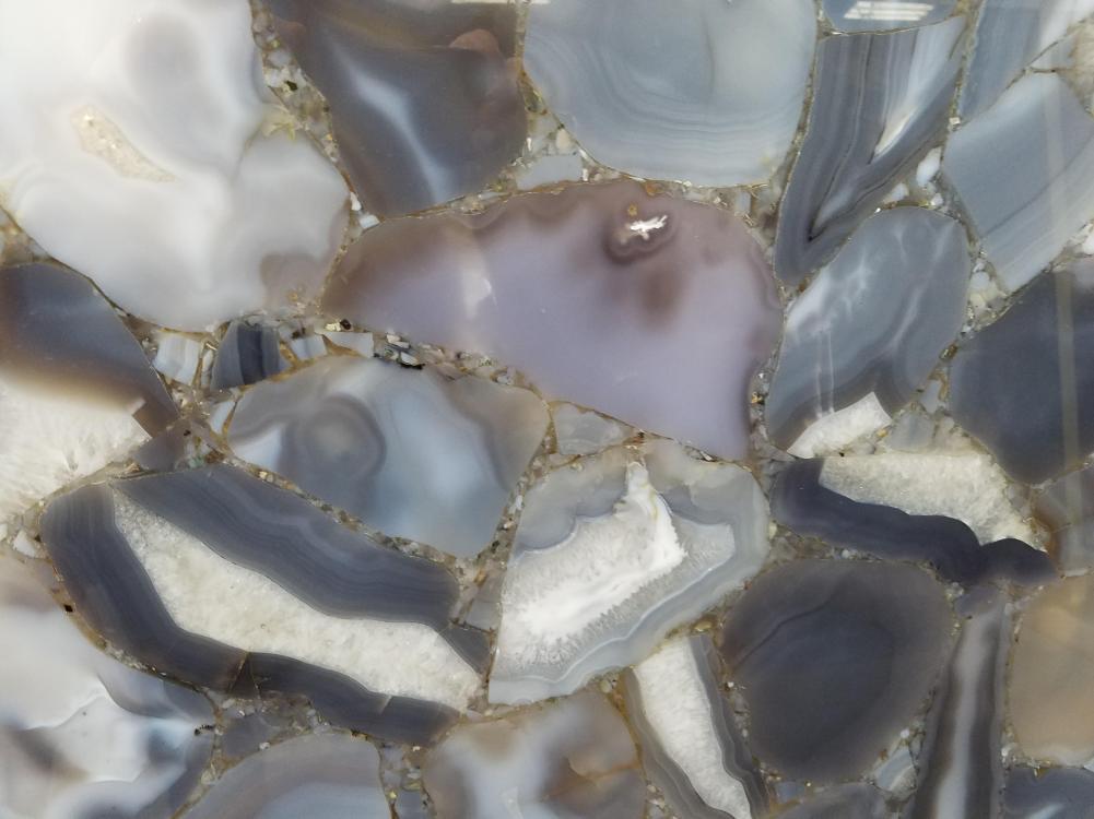 Technisches Detail: AGATA WILD Brasilianischer polierte Natur, Halbedelstein