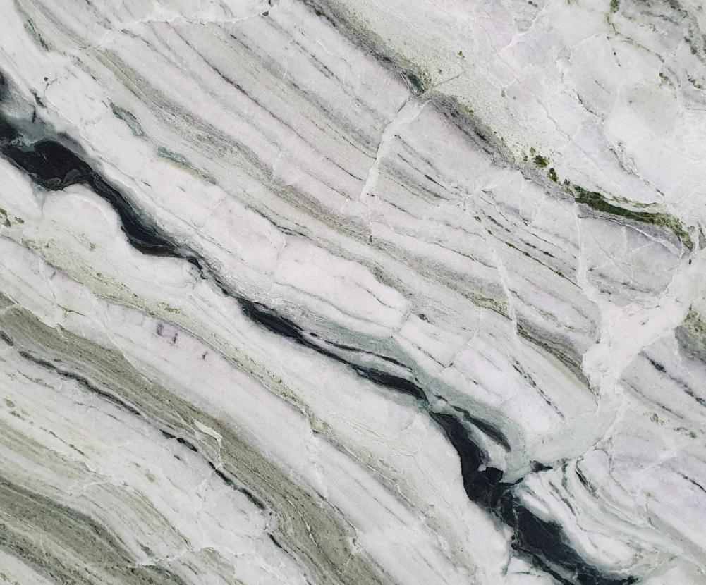 Technisches Detail: GREEN BEAUTY Chinesischer polierte Natur, Marmor