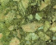 Technisches Detail: GREEN MARINACE Brasilianische polierte Natur, Bresche