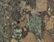 Technisches Detail: RED PALADIUM Brasilianische polierte Natur, Bresche