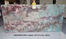 Lieferung polierte Unmaßplatten 2 cm aus Natur Halbedelstein AMAZZONITE Z0011. Detail Bild Fotos