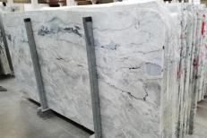 Lieferung polierte Unmaßplatten 2 cm aus Natur Dolomit ARTIC WHITE 1236G. Detail Bild Fotos