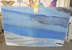Lieferung polierte Unmaßplatten 2 cm aus Natur Marmor AZUL MAKAUBA AA U0247. Detail Bild Fotos