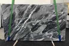 Lieferung polierte Unmaßplatten 2 cm aus Natur Marmor BARDIGLIO NUVOLATO SCURO 1172. Detail Bild Fotos
