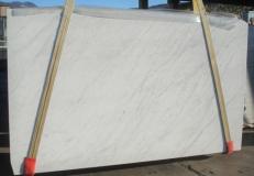 Lieferung geschliffene Unmaßplatten 3 cm aus Natur Marmor BIANCO CARRARA C 2273. Detail Bild Fotos