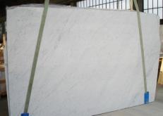 Lieferung geschliffene Unmaßplatten 2 cm aus Natur Marmor BIANCO CARRARA C 2274. Detail Bild Fotos