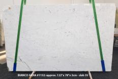 Lieferung polierte Unmaßplatten 3 cm aus Natur Marmor BIANCO GIOIA EXTRA 1152. Detail Bild Fotos