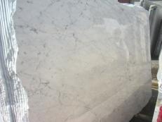 Lieferung polierte Unmaßplatten 2 cm aus Natur Marmor BIANCO GIOIA VENATO EM_0238. Detail Bild Fotos