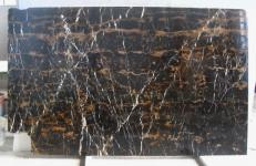 Lieferung polierte Unmaßplatten 2 cm aus Natur Marmor BLACK AND GOLD E_H2387. Detail Bild Fotos