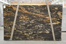 Lieferung polierte Unmaßplatten 3 cm aus Natur Granit BLACK VULCON 2480. Detail Bild Fotos