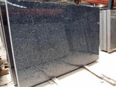 Lieferung polierte Unmaßplatten 2 cm aus Natur Labradorit BLUE PEARL GT TW 19659. Detail Bild Fotos