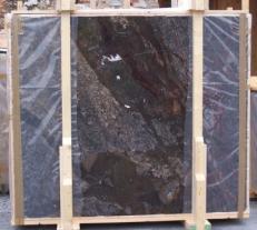 Lieferung polierte Unmaßplatten 2 cm aus Natur Bresche BRECCIA ANTICA E-14709. Detail Bild Fotos