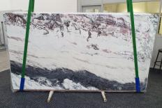 Lieferung polierte Unmaßplatten 2 cm aus Natur Marmor BRECCIA CAPRAIA 1250. Detail Bild Fotos