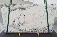 Lieferung polierte Unmaßplatten 2 cm aus Natur Marmor BRECCIA CAPRAIA 1251. Detail Bild Fotos