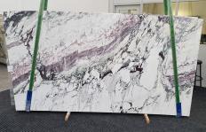 Lieferung polierte Unmaßplatten 3 cm aus Natur Marmor BRECCIA CAPRAIA 1282. Detail Bild Fotos