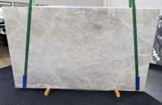 Lieferung polierte Unmaßplatten 3 cm aus Natur Marmor BRILLANT GREY 1410. Detail Bild Fotos