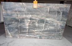 Lieferung polierte Unmaßplatten 2 cm aus Natur Quarzit BRITA BLUE Z0359. Detail Bild Fotos