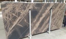 Lieferung geschliffene Unmaßplatten 2 cm aus Natur Kalkstein BRONZO VENATO 1529M. Detail Bild Fotos