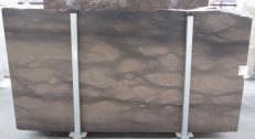 Lieferung geschliffene Unmaßplatten 2 cm aus Natur Kalkstein CAESER BROWN 0273M. Detail Bild Fotos