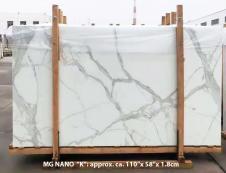 Lieferung polierte Unmaßplatten 1.8 cm aus hitzebeständigem Gussglas CALA VEIN K Model-K. Detail Bild Fotos