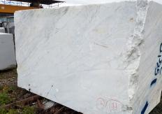 Lieferung gesägte Blöcke 130 cm aus Natur Marmor CALACATTA ARNI Z0175. Detail Bild Fotos