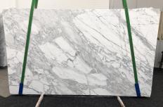 Lieferung geschliffene Unmaßplatten 2 cm aus Natur Marmor CALACATTA BELGIA 1146. Detail Bild Fotos
