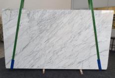 Lieferung polierte Unmaßplatten 3 cm aus Natur Marmor CALACATTA CARRARA 1295. Detail Bild Fotos
