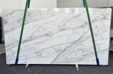 Lieferung polierte Unmaßplatten 2 cm aus Natur Marmor CALACATTA CARRARA 1358. Detail Bild Fotos