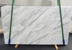 Lieferung geschliffene Unmaßplatten 3 cm aus Natur Marmor CALACATTA CARRARA #1370. Detail Bild Fotos