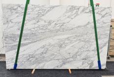 Lieferung polierte Unmaßplatten 3 cm aus Natur Marmor CALACATTA CARRARA 1421. Detail Bild Fotos