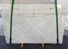 Lieferung polierte Unmaßplatten 2 cm aus Natur Marmor CALACATTA CREMO 1263. Detail Bild Fotos
