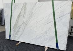 Lieferung polierte Unmaßplatten 2 cm aus Natur Marmor CALACATTA CREMO 1403. Detail Bild Fotos