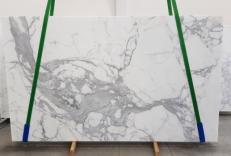 Lieferung geschliffene Unmaßplatten 2 cm aus Natur Marmor CALACATTA EXTRA 1145. Detail Bild Fotos