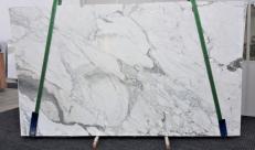 Lieferung polierte Unmaßplatten 3 cm aus Natur Marmor CALACATTA FANTASIA GL 998. Detail Bild Fotos