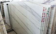 Lieferung polierte Unmaßplatten 3 cm aus Natur Marmor CALACATTA LINCOLN U0180509. Detail Bild Fotos