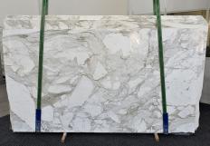 Lieferung polierte Unmaßplatten 2 cm aus Natur Marmor CALACATTA MACCHIA ANTICA 1311. Detail Bild Fotos