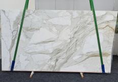 Lieferung polierte Unmaßplatten 2 cm aus Natur Marmor CALACATTA MACCHIA ANTICA 1389. Detail Bild Fotos