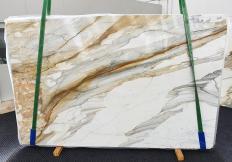 Lieferung polierte Unmaßplatten 2 cm aus Natur Marmor CALACATTA MACCHIAVECCHIA 1354. Detail Bild Fotos