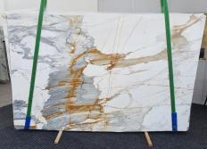 Lieferung polierte Unmaßplatten 2 cm aus Natur Marmor CALACATTA MACCHIAVECCHIA 1428. Detail Bild Fotos
