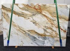 Lieferung polierte Unmaßplatten 2 cm aus Natur Marmor CALACATTA MACCHIAVECCHIA 1422. Detail Bild Fotos