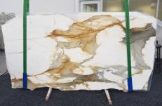 Lieferung polierte Unmaßplatten 2 cm aus Natur Marmor CALACATTA MACCHIAVECCHIA GL 1130. Detail Bild Fotos