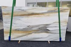 Lieferung polierte Unmaßplatten 2 cm aus Natur Marmor CALACATTA MAJESTIC 1343. Detail Bild Fotos