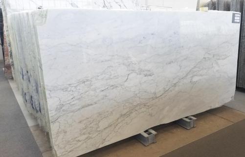 Lieferung polierte Unmaßplatten 2 cm aus Natur Marmor CALACATTA MICHELANGELO A0261. Detail Bild Fotos