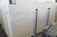 Lieferung polierte Unmaßplatten 2 cm aus Natur Marmor CALACATTA MICHELANGELO AA T0269. Detail Bild Fotos
