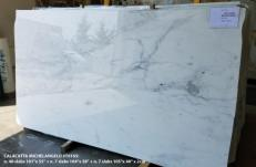Lieferung polierte Unmaßplatten 2 cm aus Natur Marmor CALACATTA MICHELANGELO AA T0165. Detail Bild Fotos