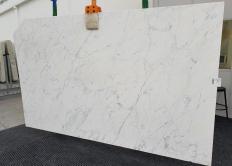 Lieferung geschliffene Unmaßplatten 2 cm aus Natur Marmor CALACATTA MIELE 1303. Detail Bild Fotos